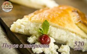 Пирог с творогом - Фото