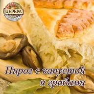 Пирог с капустой и грабами Фото
