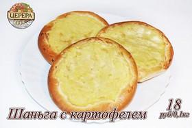 Шаньга с картофелем - Фото