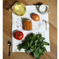 Томатно-овощной соус Фото