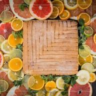 Пирог лимонный Фото