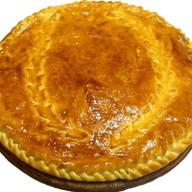 Пирог с зелёным луком и яйцом Фото