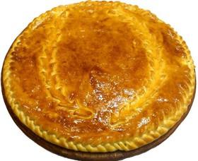 Пирог с куриным филе и картошкой - Фото