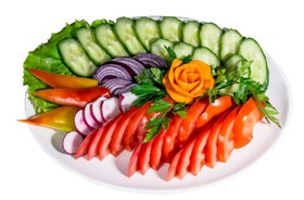 Овощная тарелка - Фото