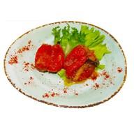 Перец болгарский в чесночном маринаде Фото
