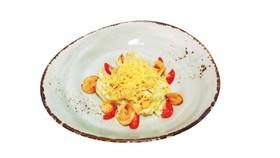 Салат с креветками и соусом А-ля кардини - Фото