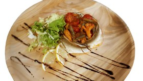 Филе ряпушки с овощами - Фото