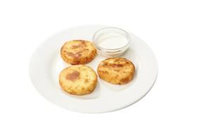 Сырники со сметаной - Фото