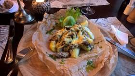 Телятина по-орловски с картофелем - Фото