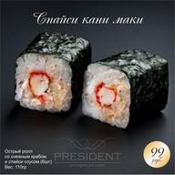 Спайси Кани Маки Фото