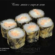 Сяке Маки с сыром хот Фото