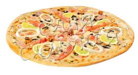Пицца Морской коктейль - Фото