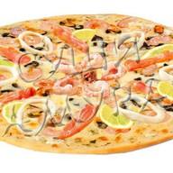 Пицца Морской коктейль Фото