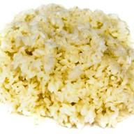 Рис с соусом и овощами Фото