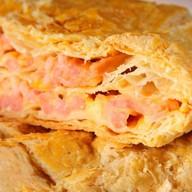 Слоеный пирог с горбушей и картофелем Фото