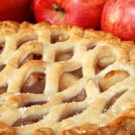 Слоеный пирог с яблоком Фото