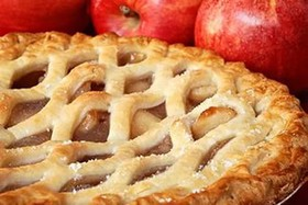 Слоеный пирог с яблоком - Фото