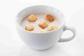 Сливочный крем «Крем-суп из шампи - Фото