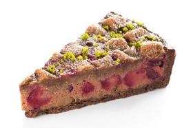 Пирог шоколадно-вишневый - Фото