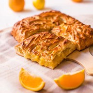 Пирог с лимоном и апельсином Фото