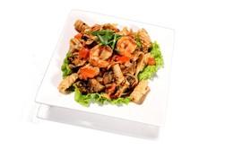 Лапша с морепродуктами - Фото