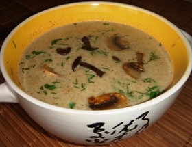 Суп - крем из шампиньенов - Фото