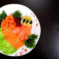 Нарезка из лосося Фото