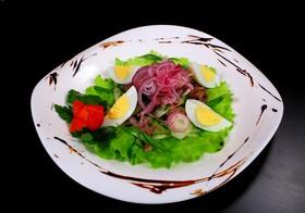 Салат с языком - Фото