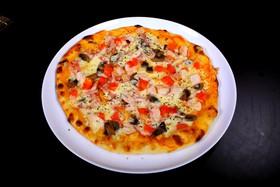 Пицца Грибная с курицей - Фото