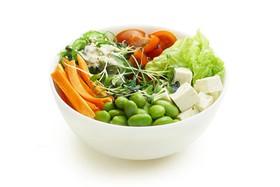 Поке с овощами и соусом на выбор - Фото