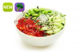 Салат фунчоза с овощами - Фото