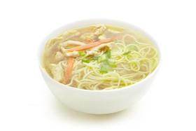 Суп куриный с лапшой - Фото
