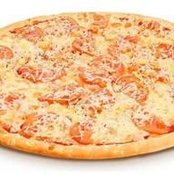 Пицца с курой и беконом Фото