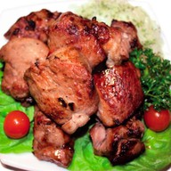 Шашлык из свинины (шейка) Фото