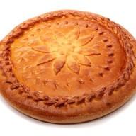 Пирог из слоеного теста с капустой Фото