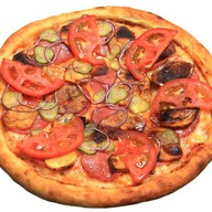 Пицца Деревенская Фото