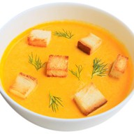 Суп-крем с лососем Фото