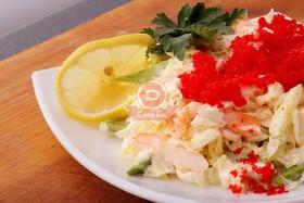 Салат с креветками - Фото