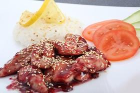 Курица в клюквенном соусе - Фото