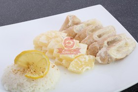 Курица в ананасовом соусе - Фото