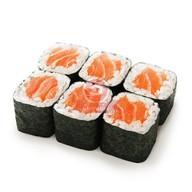 Мини роллы с лососем Фото
