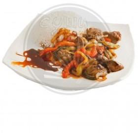 Мясо по-китайски - Фото