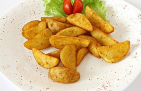 Картофель запеченный - Фото