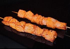 Якитори из семги с соусом Терияки - Фото