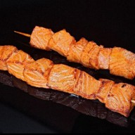 Якитори из семги с соусом Терияки Фото