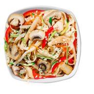 Классический wok Фото