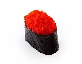 Суши с икрой масаго - Фото