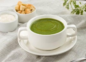 Крем-суп из шпината - Фото