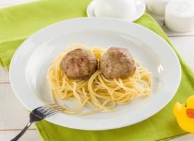 Тефтельки со спагетти - Фото