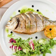 Ужин рыбака Фото